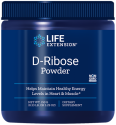 D-Ribose Powder 150 grams  Life Extension