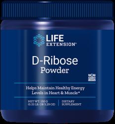 D-Ribose Powder 150 grams  Life Extension