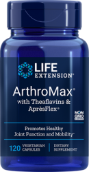 ArthroMax® with Theaflavins & ApresFlex®120 vegetarian capsules Life Extension