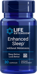 Enhanced Sleep without Melatonin      30 capsules Life Extension