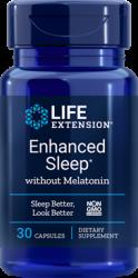 Enhanced Sleep without Melatonin      30 capsules Life Extension