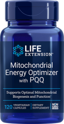 Mitochondrial Energy Optimizer with PQQ      120 capsules Life Extension