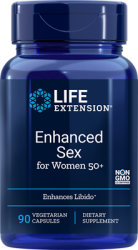 Advanced Natural Sex for Women® 50+ 90 vegetarian capsules Life Extention