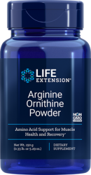 Arginine Ornithine Powder150 grams  Life Extension