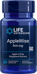 AppleWise      600 mg, 30 capsules Life Extension