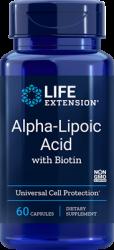 Alpha-Lipoic Acid with Biotin      60 capsules Life Extension
