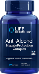 Anti-Alcohol Antioxidants with Hepato Protection Complex 60 capsules Life Extension