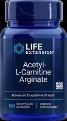Acetyl-L-Carnitine Arginate 90 vegetarian capsules Life Extension
