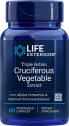 Triple Action Cruciferous Vegetable Extract 60 capsules Life Extension