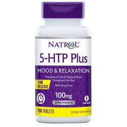 Natrol® 5-HTP 100 mg, 150 Tablets  Time Release