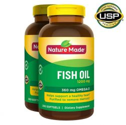 Nature Made® Fish Oil 1200 mg, 400 Softgels