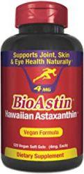 BioAstin® Natural Astaxanthin 4 mg 120 Gel Caps