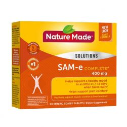 Nature Made® SAM-e Complete®* 400mg, 60 Tablets