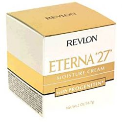 Revlon With Progenitin Eterna 27 Moisture Cream, 2 Oz