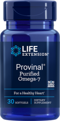 Provinal® Purified Omega-7  30 softgels, Life Extension