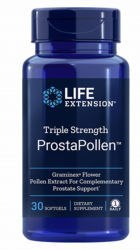 Triple Strength ProstaPollen 30 softgels Life Extension