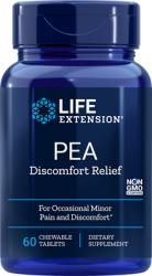 PEA Discomfort Relief, 60 chewable tablets Life Extension