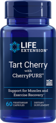 Tart Cherry with CherryPURE®      60 capsules Life Extension