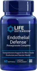 Endothelial Defense™ Pomegranate Complete      60 softgels Life Extension
