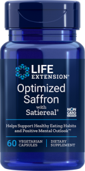 Optimized Saffron with Satiereal®      60 capsules  Life Extension