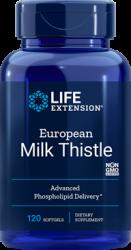 European Milk Thistle, 120 softgels Life Extension