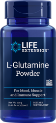 L-Glutamine 100 grams powder,   Life Extension