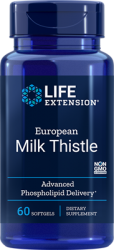 European Milk Thistle  60 softgels  Life Extension