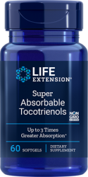 Super Absorbable Tocotrienols 60 softgels - Life Extension