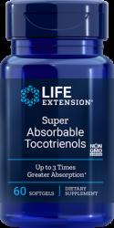 Super Absorbable Tocotrienols 60 softgels - Life Extension