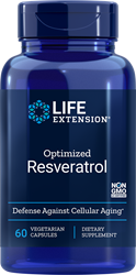 Optimized Resveratrol      60 capsules Life Extension