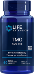 TMG      500 mg, 60 liquid capsules Life Extension