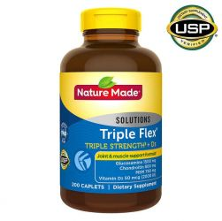 Nature Made TripleFlex® Triple Strength + D3   200 Caplets