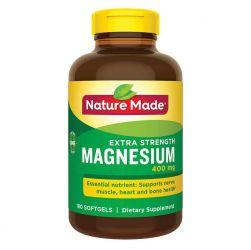 Nature Made Extra Strength Magnesium 400 mg., 180 Softgels