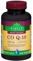Finest Nutrition CoQ10 200 mg Quick Dissolve 90 Softgels