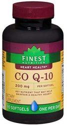 Finest Nutrition CoQ10 200 mg Quick Dissolve 90 Softgels