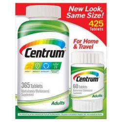 Centrum Adults Multivitamin, 425 Tablets