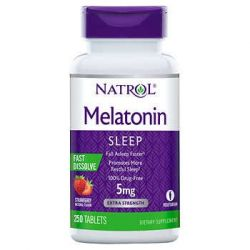 Natrol® Melatonin 5 mg, 250 Fast Dissolve Tablets