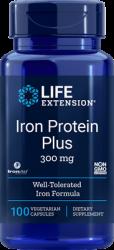 Iron Protein Plus      300 mg, 100 capsules Life Extension