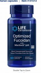 Optimized Fucoidan with Maritech® 926 60 vegetarian capsules Life Extension