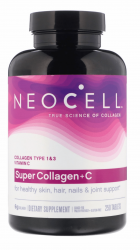 NeoCell Super Collagen Hydrolyzed C Type 1 and 3 -- 250 Tablets