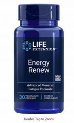 Energy Renew 200 mg, 30 vegetarian capsules Life Extension