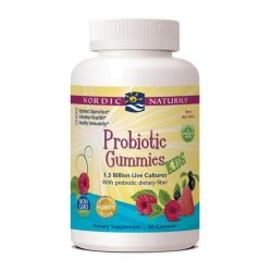 Nordic Naturals, Probiotic Gummies Kids, Merry Berry Punch, 60 Gummies