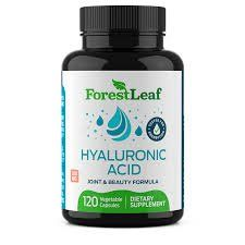 Hyaluronic Acid 120 Capsules  by ForestLeaf