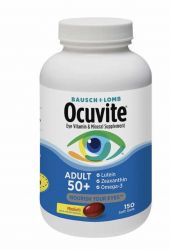 Bausch + Lomb -  Ocuvite Adult 50+, 150 Soft Gels