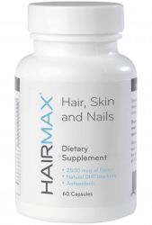 HairMax for Hair, Skin and Nails Dietary Supplement – Hair Loss and Hair Regrowth Treatment for Women and Men.