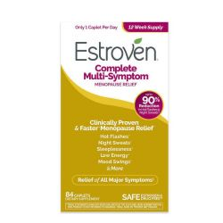 Estroven Complete Multi-Symptom Menopause Relief, 84 Caplets