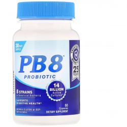 Nutrition Now, PB 8, Probiotic, 60 Capsules By Nutrition Now