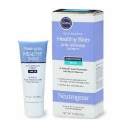 Neutrogena Healthy Skin Anti-Wrinkle SPF15 Moisturizer, 1.4 Oz., 2-Pk