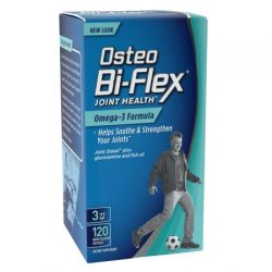 Osteo Bi-Flex Joint Health Omega-3 Formula 120 Softgels
