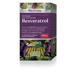 ResVitále Resveratrol (500 mg)30 Capsules